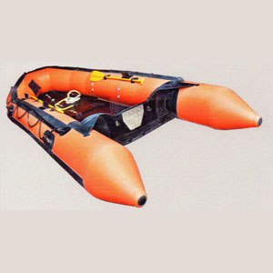 -Inflatable Rubber Rescue Boats
