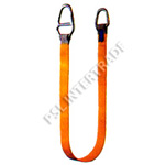 -Lifting sling with high-duty steel and fittings