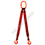 -Multi-leg lifting systems with high-duty steel end fittings