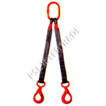 -Multi-leg lifting systems with safety hook